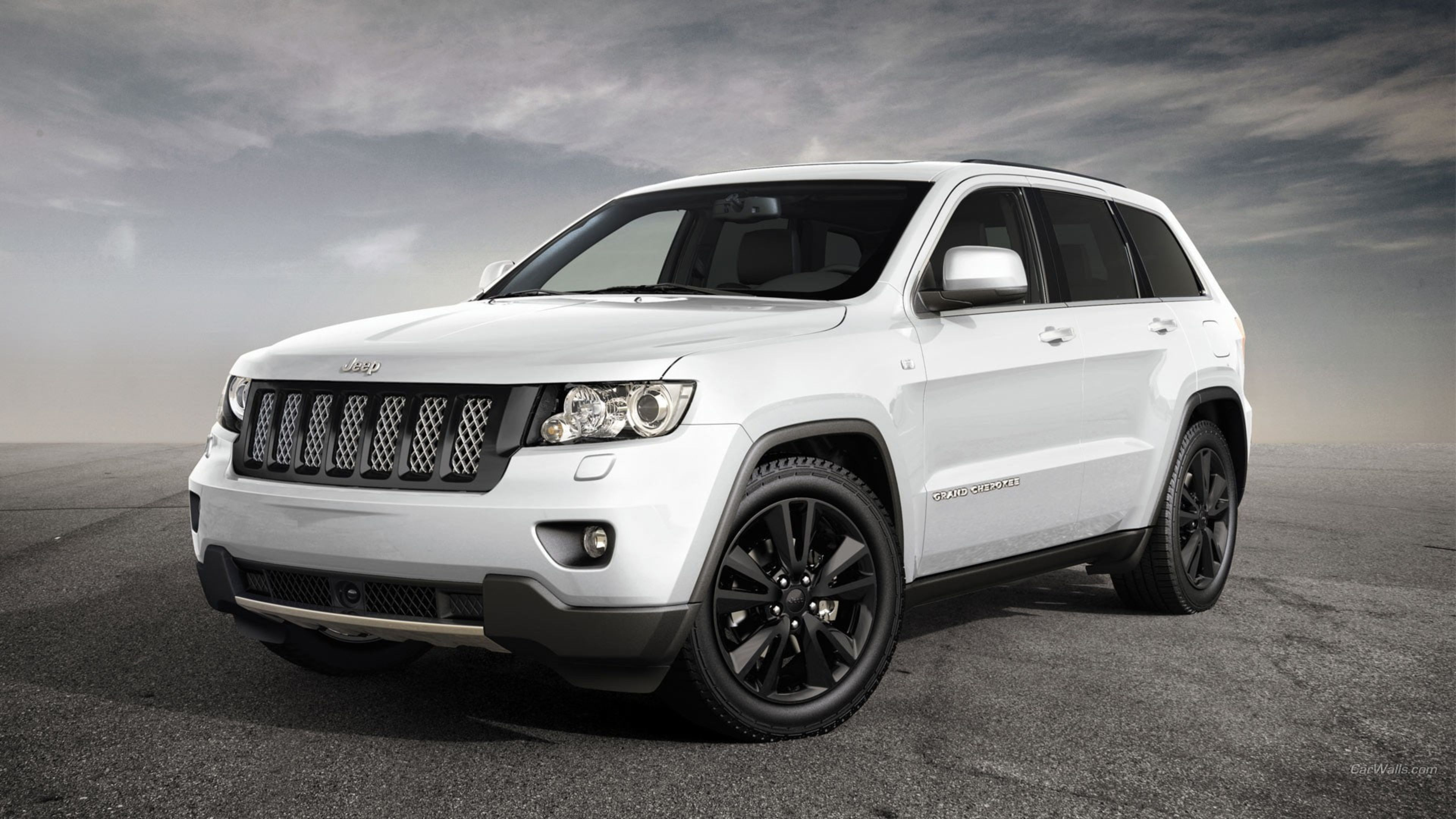 3840x2160px Free Download Hd Wallpaper Jeep Grand Cheeroke White Cars Vehicle Mode Of Transportation