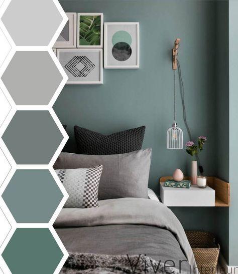Slaapkamer kleurenpalet - Huis | Pinterest - Slaapkamer, Kleuren en ...