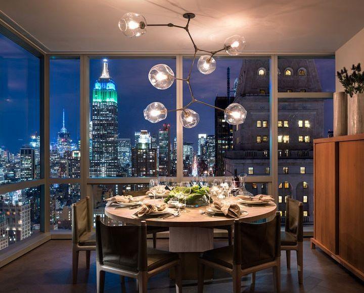 Dining Room At Gisele Bundchen Tom Brady S 14 Million High Rise