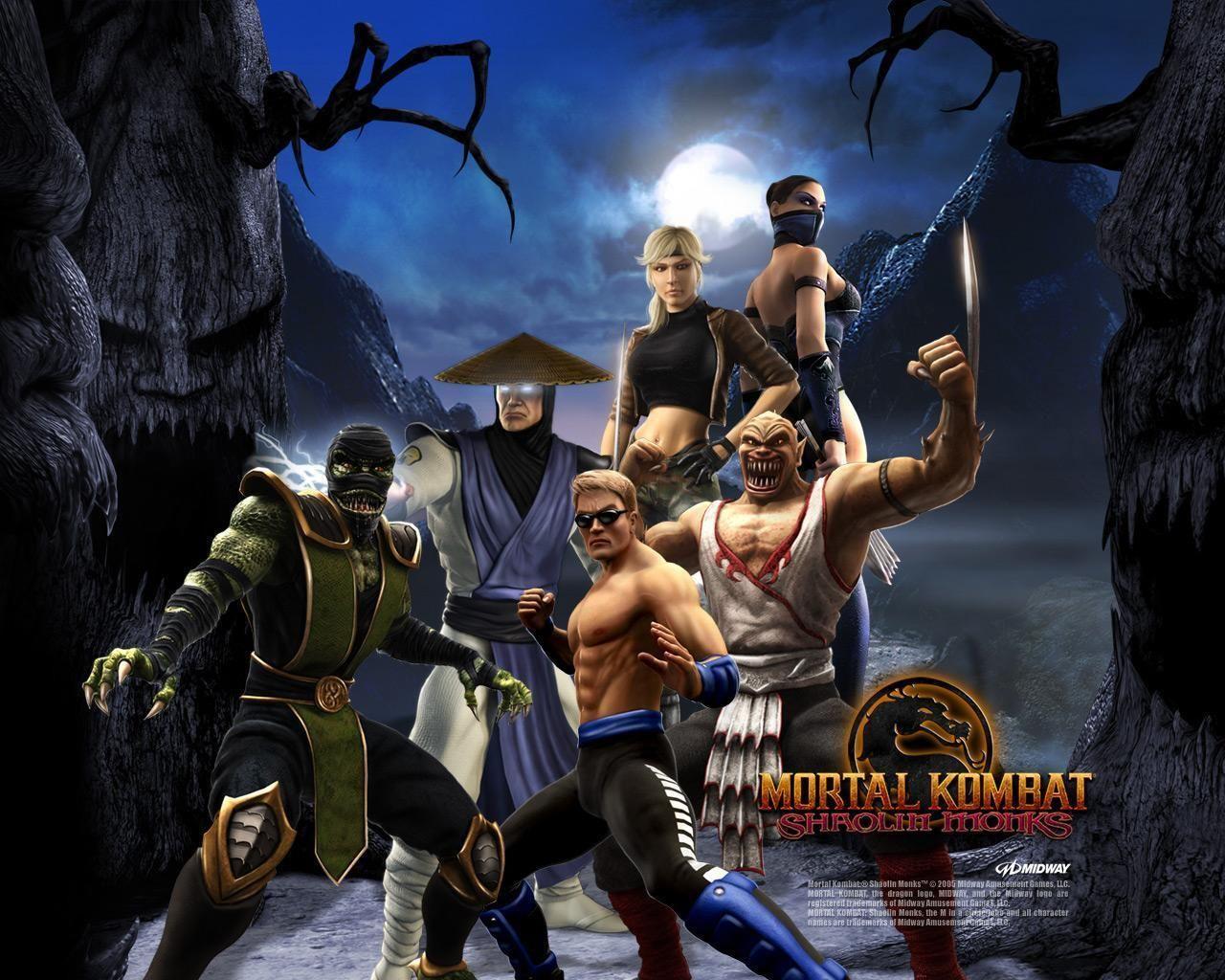 Mortal Kombat Shaolin Monks Shaolin Monks Mortal Kombat