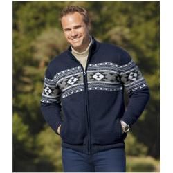 Photo of Strickjacke mit Fleecefutter Atlas For MenAtlas For Men