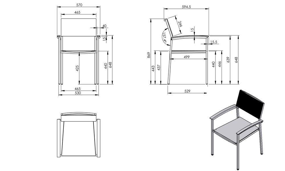 Standard Dining Stuhl Abmessungen #Esszimmerstühle ...