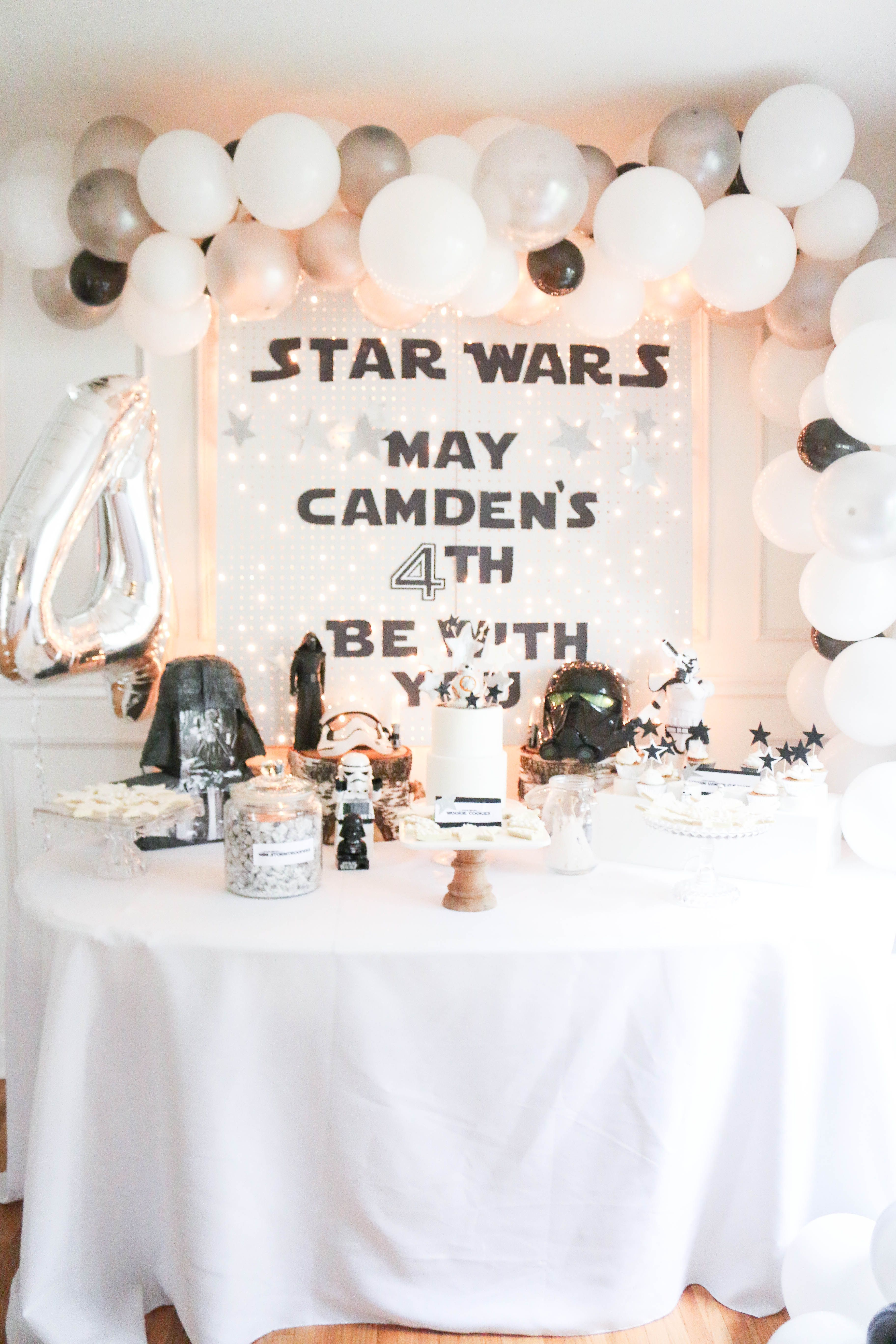 Camden A Darling Daydream tanya ng star wars lego birthday party