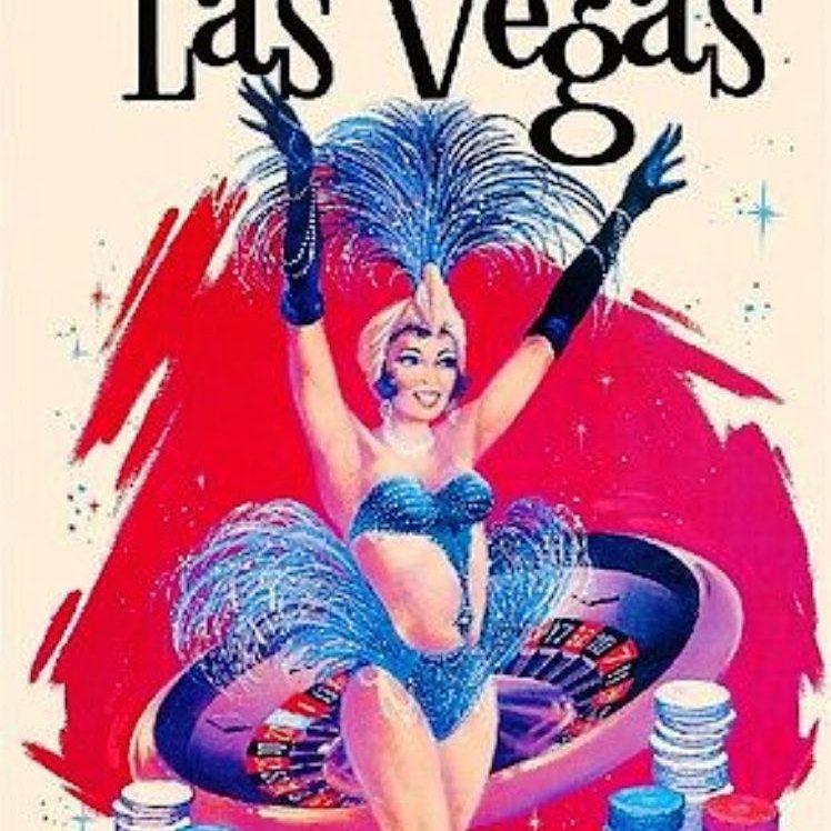 I'm offering a discount! Las vegas travel poster, Las