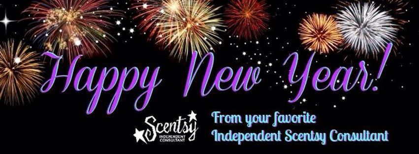 Scentsy Happy New Year Banner ScentsbyKris.scentsy.us