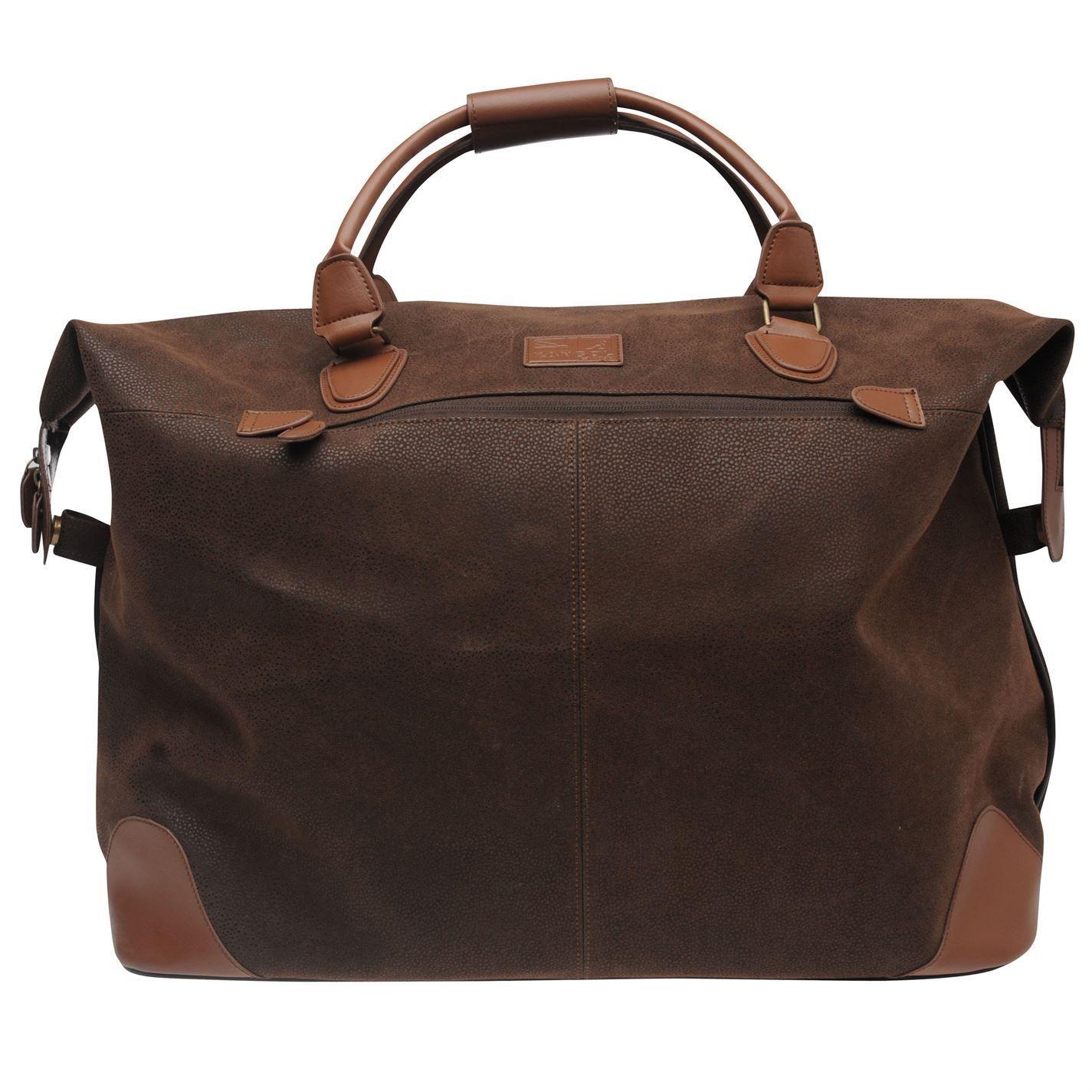 Kangol Unisex Mens Womens Lightweight Travel Overnight Holdall Caryall Bag