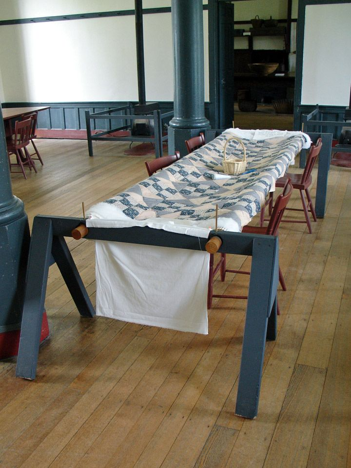 Quilting frame in a shaker museum | Projects to Try | Pinterest ...
