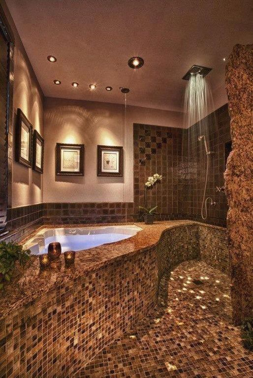15 Beautiful Bathrooms With Rain Showerbathrooms