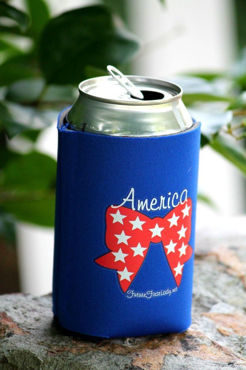 Future First Lady  - America Koozie, $5.99 (http://www.futurefirstlady.net/america-koozie/)