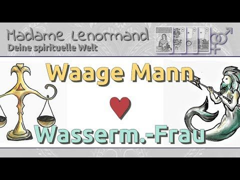Waage Mann & Wassermann Frau: Liebe und Partnerschaft