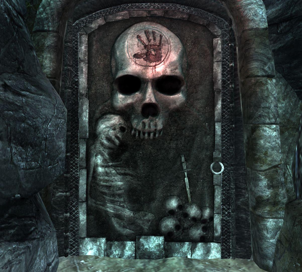 What Is The Music Of Life Silence My Brother Dark Brotherhood Skyrim Black Doors