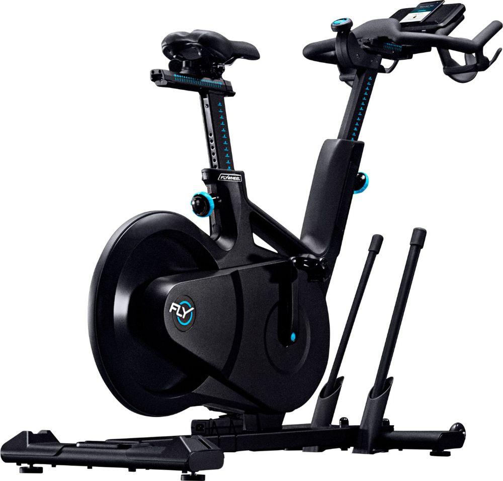 Flywheel home bike black biking workout flywheel