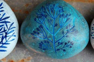 Diy: piedras decoradas, Esther Algara