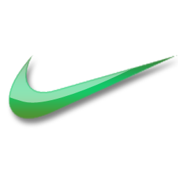pin by sameera chafin on nike pinterest green logo icons and logos rh pinterest com blue and green nike logo blue and green nike logo