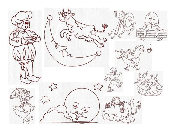 Instant download machine embroidery designs very cute like