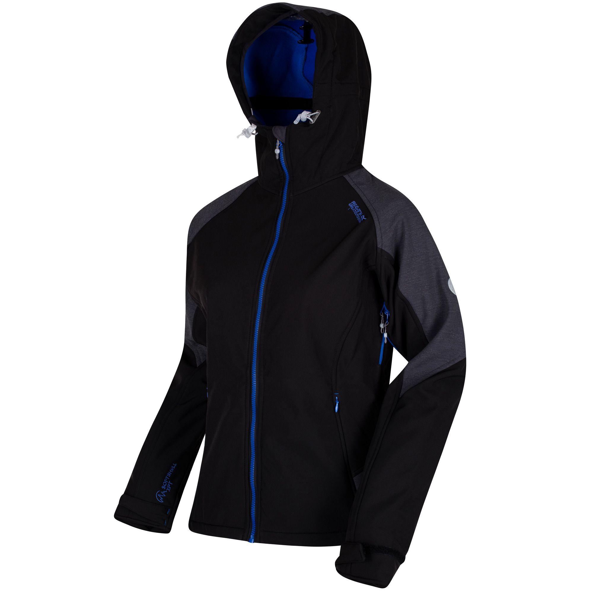 Doorout Angebote Regatta Desoto III Softshelljacke schwarz Damen Gr. 40:  Category: Outdoorbekleidung >