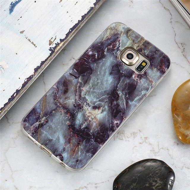 Samsung Galaxy S7 S7 S6 Edge Marble Pattern Case For Samsung Galaxy S6 Edge S8 S8+