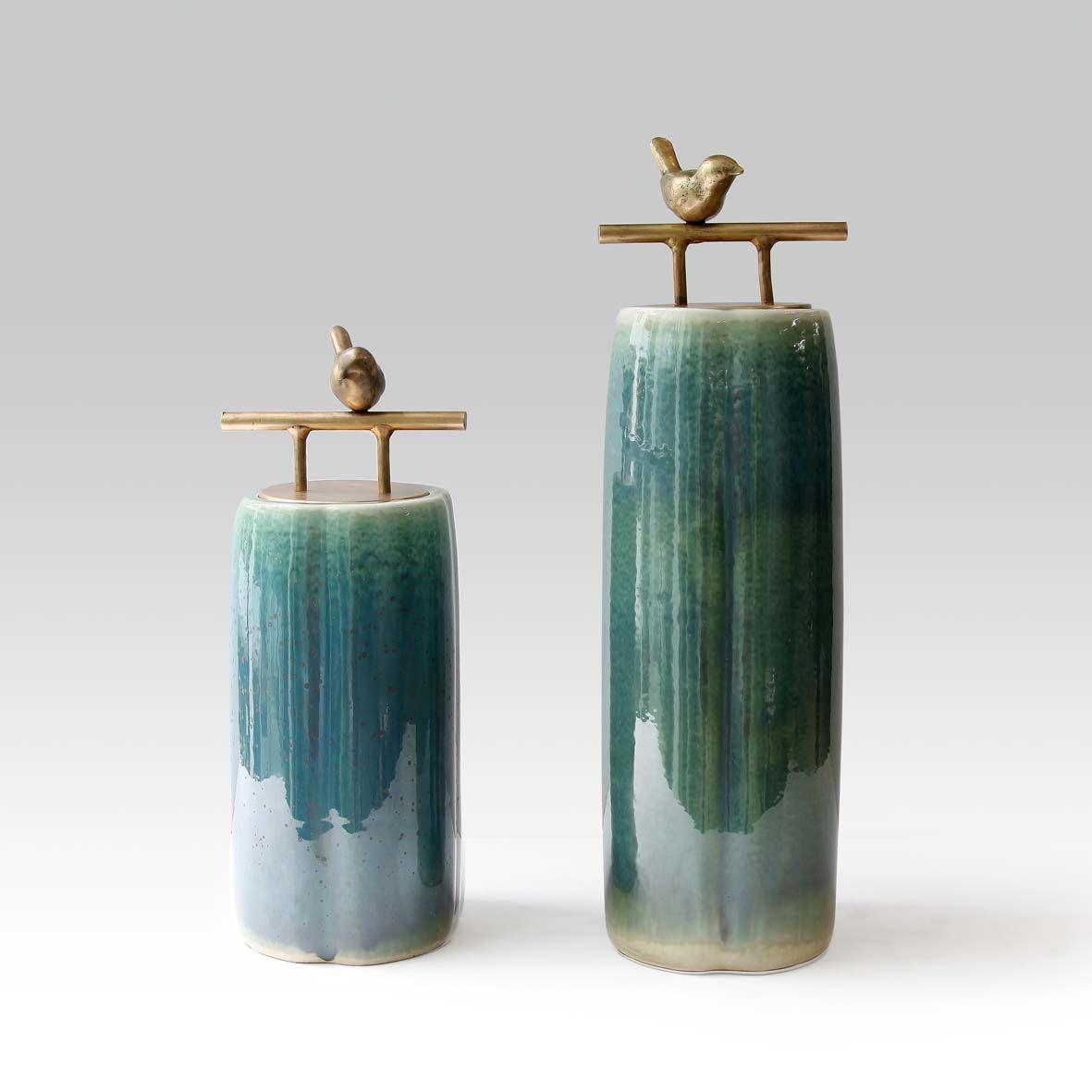 ceramic sculpture deco  branch bird 装饰  陶瓷 书法  摆件 屏风  鸟 透明 金属