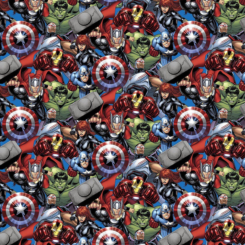 Avengers Stoff als Meterware - für Deine DIY Superhelden Projekte ...