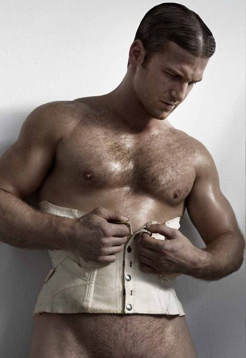 Sexy man wear