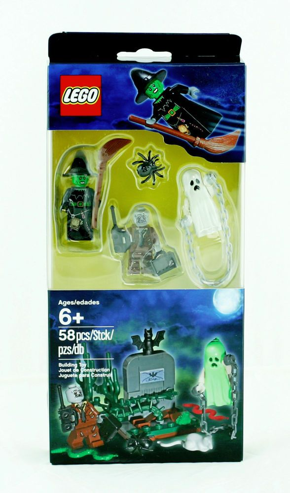 new lego monster fighters halloween accessory set 850487 witch ghost zombie - Lego Monstre