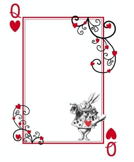 Cards Poker Border Royal Flush Playing Cards Suits Background Border Or Frame Aff P Playing Card Invitation Party Invite Template Poker Party Invitation