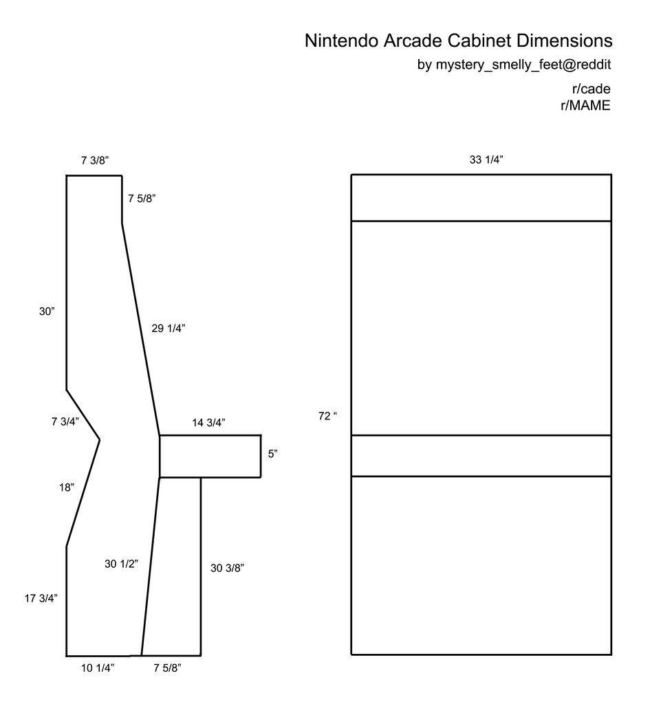 Nintendo mame cabinet plan