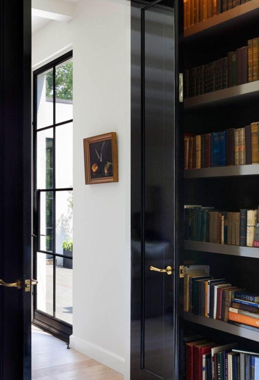 Black Lacquer Doors Black Interior Doors Black Doors House