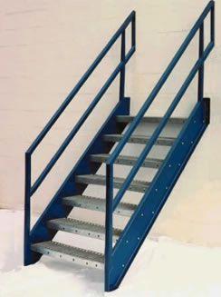 Galvanized Stairs, Metal Stairs, OSHA Prefab Stairways