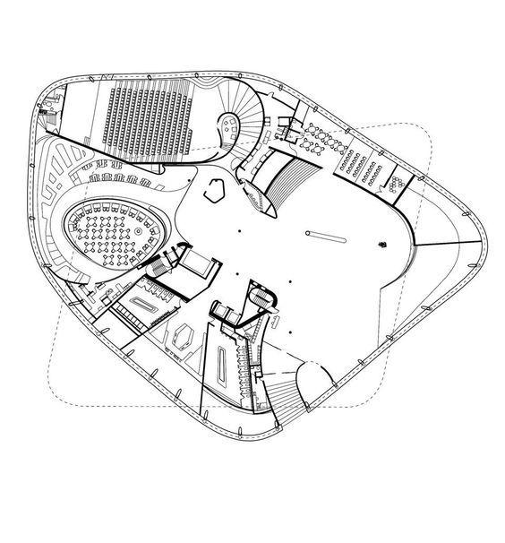 Centripetal Floor Plan