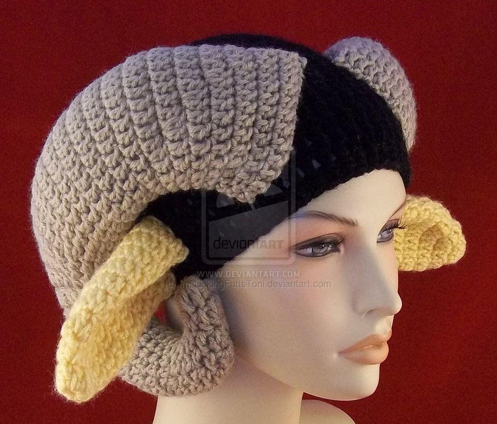 80fb4922399 Crochet Beanie Ram Horns Long Ears Saga Marko by ImNuckingFuttsToni ...