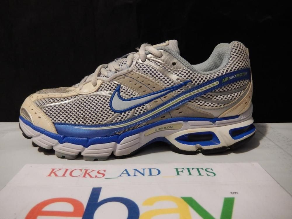 watch cec8e eb8eb Nike Air Max MOTO + 5 Women s Running Shoes 316644-141 Preowned size 8.5  2007  Nike  RunningCrossTraining