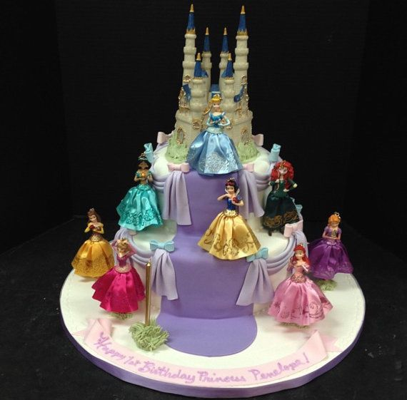 Cinderella cake topperDisney Inspired Princess birthdayCinderella