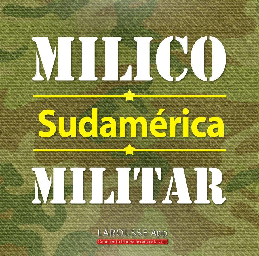 milico/ Sudamérica