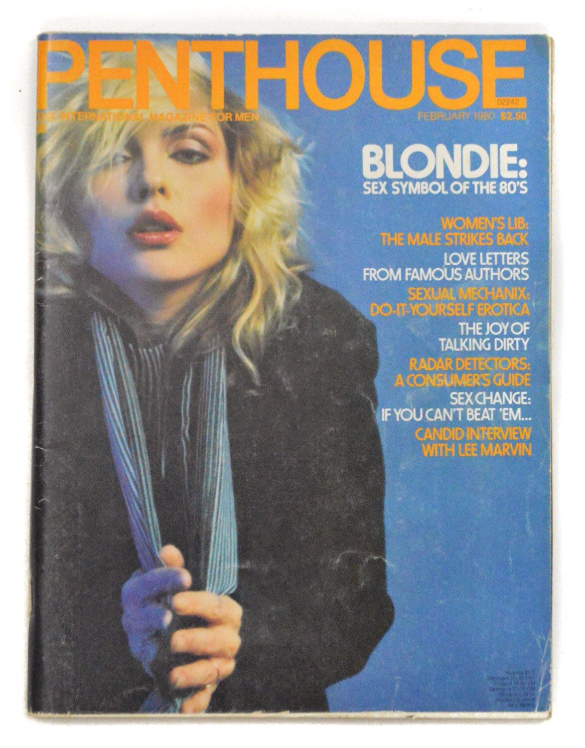 Debbie harry blondie hustler photo