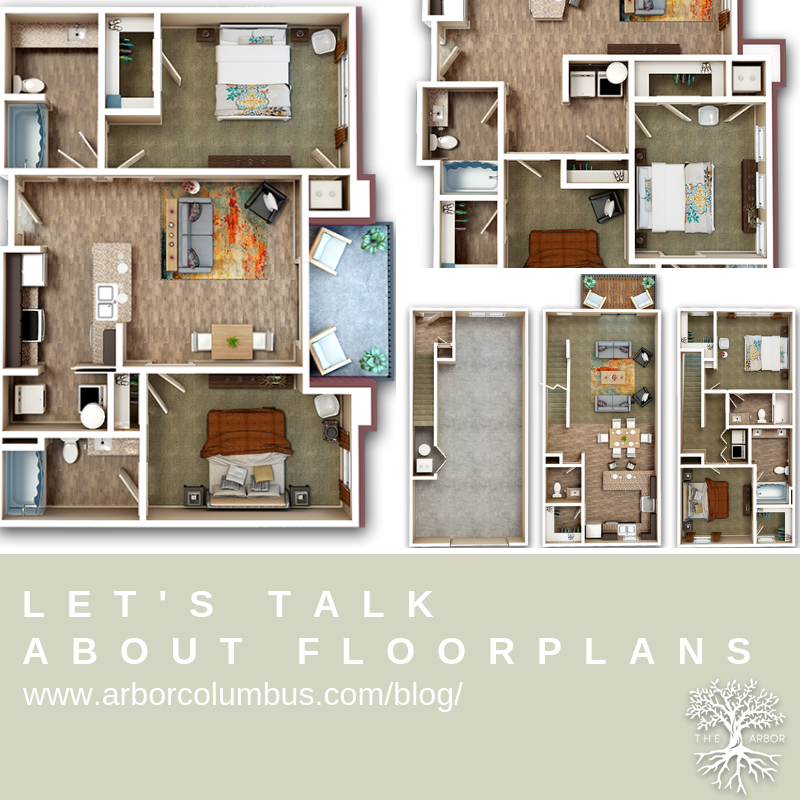 From Studio Apartments To One And Two Bedroom And Even Our Townhouses We Talk About Our Floorplans In Our Latest B Apartment Apartment Living Studio Apartment