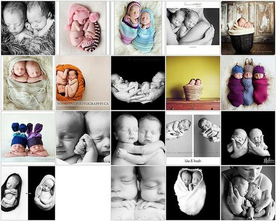 multiples newborn picture idea