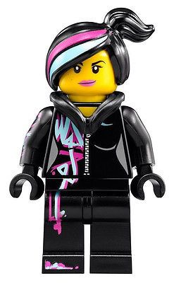 New Lego Movie Wyldstyle Minifigure With Folded Hood Wildstyle Girl Female Lego Movie Lego Movie Birthday Lego Movie Cake