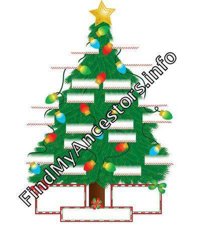 Christmas Family Tree Template Classroom Ideas Pinterest