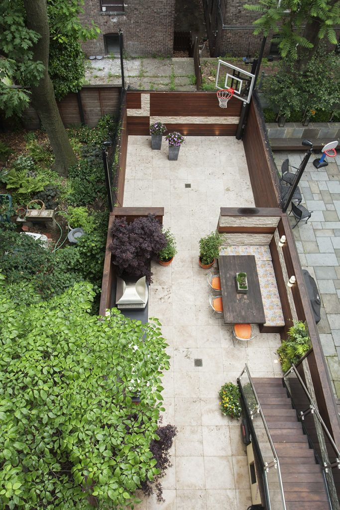 1234 Garden Street Hoboken Nj Townhouse For Sale Patio Garden Townhouse Hoboken