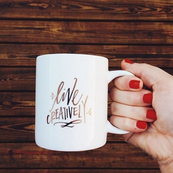 Cute Mugs Sharpie live creatively | words of encouragement | pinterest | coffee and cups