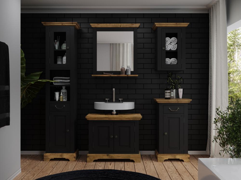 Woodkings Shop In 2020 Spiegel Mit Ablage Waschbeckenunterschrank Badmobel Set