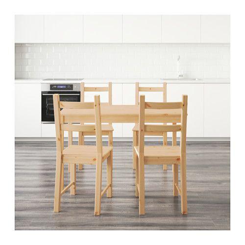 INGO / IVAR Mesa con 4 sillas - pino | moviliario | Mesa de ...
