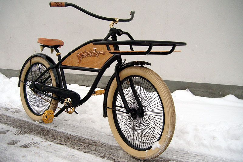 "Electra Bicycle Pics | Page 20 | Rat Rod Bikes | Electra RatRod converted to ""The Picknicker"""