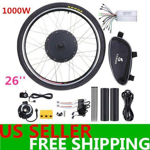 Sponsored Ebay 26 1000w Rear Wheel Electric Bicycle Bike Motor