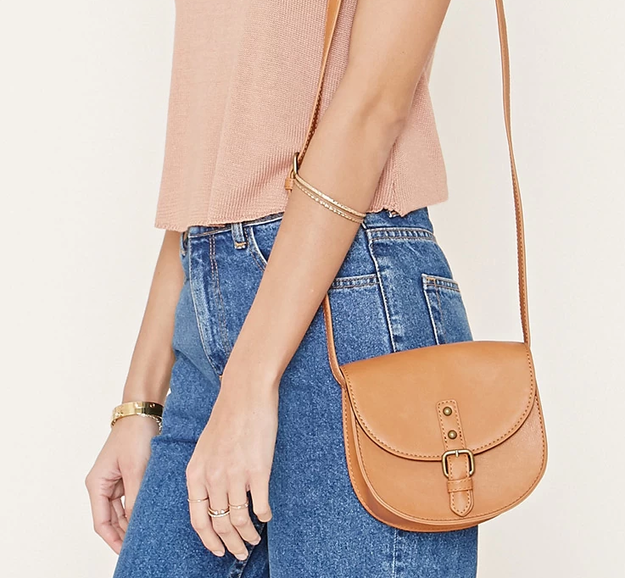 This humble saddle bag that will let the rest of your outfit shine.