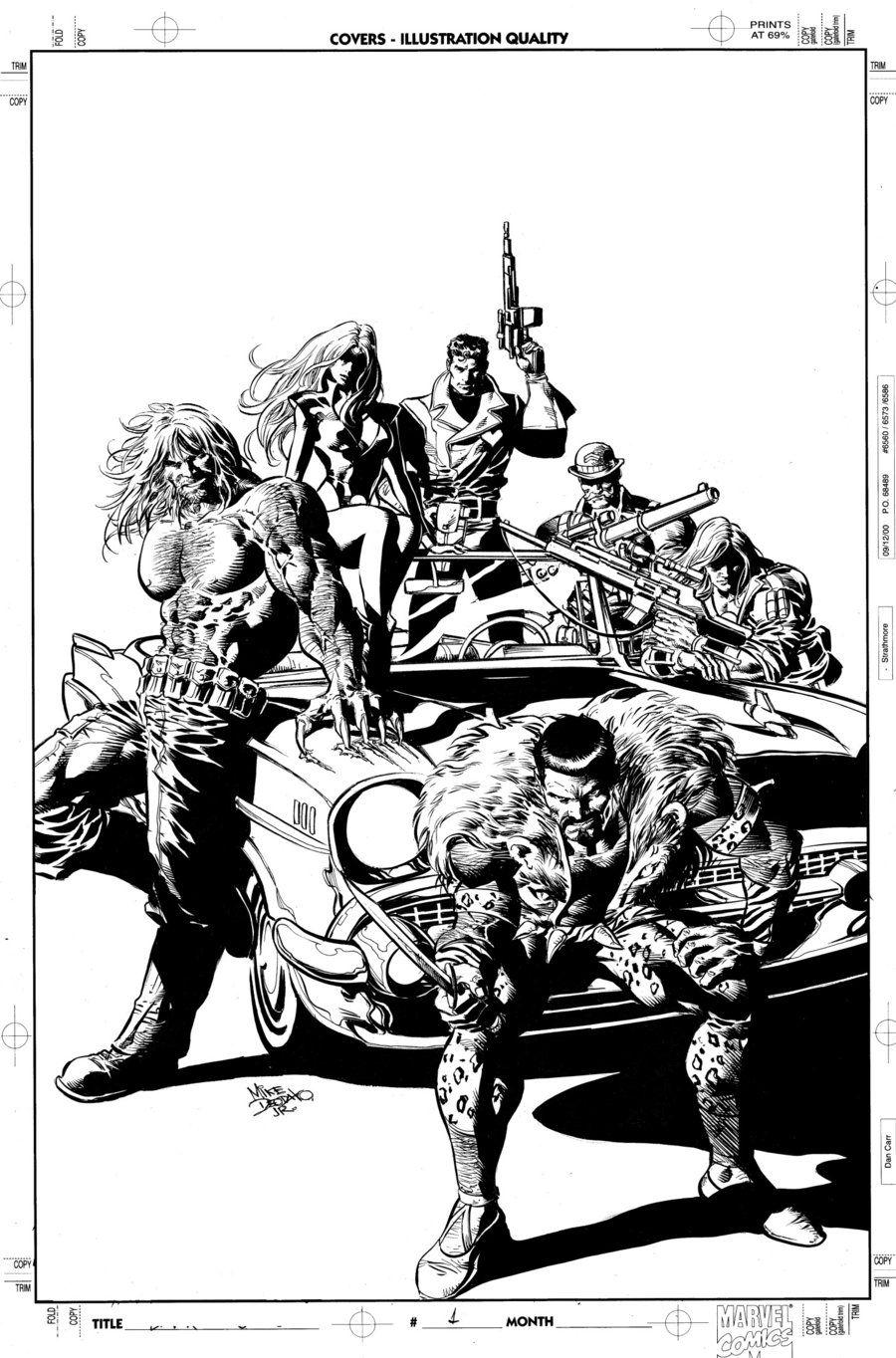 New Avengers 10 Cover Art by MikeDeodatoJr.deviantart.com on @deviantART