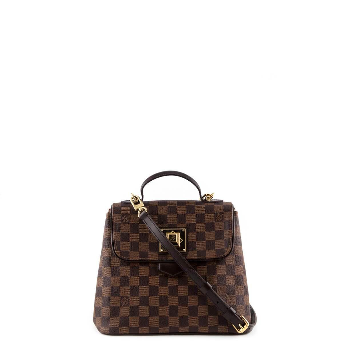 8a45991dc08 Louis Vuitton Damier Ebene Bergamo MM - LOVE that BAG - Preowned Authentic Designer  Handbags -