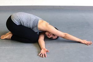restorative yoga without props  restorative yoga