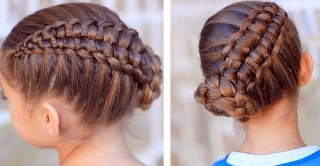 Tipos de peinados de trenzas faciles
